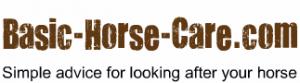 Transparent Basic Horse Care Logo